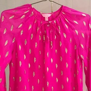 Lilly Pulitzer pullover blouse
